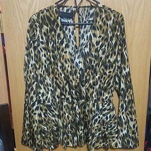 Kardashian Leopard print top